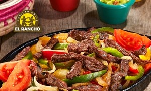 El Rancho: Chez El Rancho Mexican Grill, pour 2 € seulement, un plat acheté = un plat au choix offert*