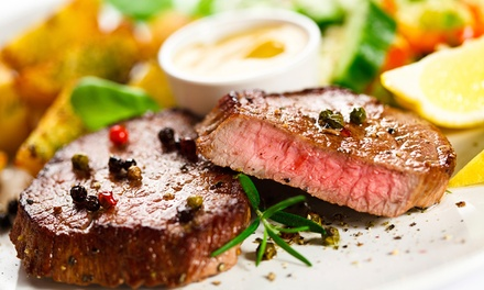 Steakhouse Dinner or a Saturday-Night Rodeo at Tejas Rodeo Company (Up to 42% Off). Four Options Available.