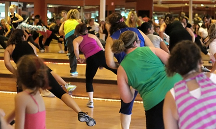 Revel Fitness - Carmel: 6 or 12 Zumba Classes at Revel Fitness (Up to 51% Off)