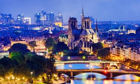 París: habitación doble clásica para 2 personas con desayuno y opción a crucero por el Sena en Villa Royale Montsouris