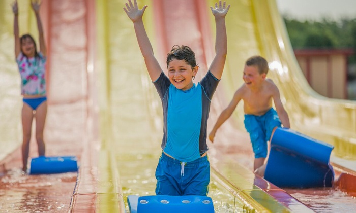 Hawaiian Falls - White Settlement: $18.99 for One-Day Admission to the Water-Park and Adventure Park at Hawaiian Falls ($26.99 Value)