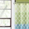 Geometric Waterproof PEVA Shower Curtain