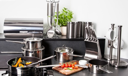 morphy richards 21pc kitchen set groupon