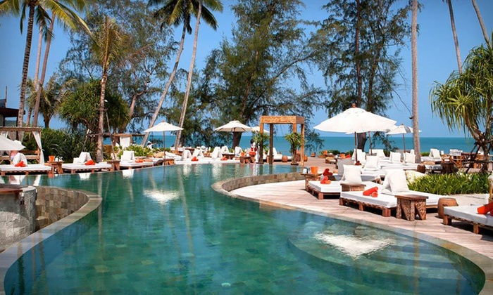 Nikki Beach Bungalow Resort: Five or Seven Nights in a Sea-View Bungalow with Dinner and Massages at Nikki Beach Bungalow Resort in Thailand
