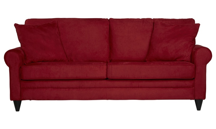 Beaumont Red Sofa