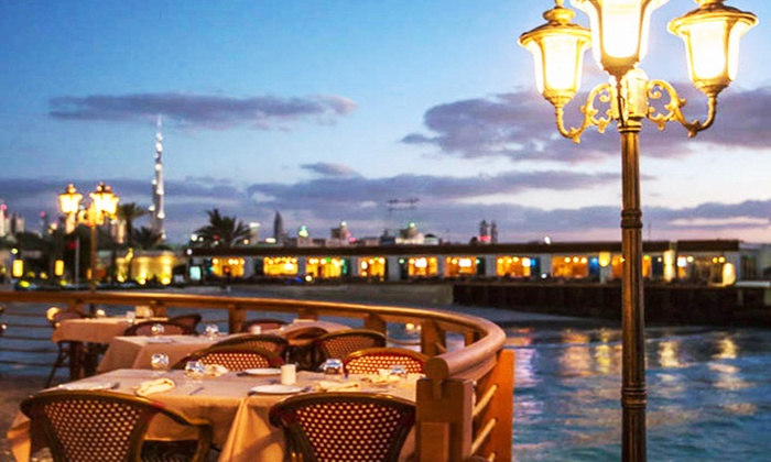 Up to AED 300 Towards Italian Food and Drink at Capanna Nuova, 5* Dubai Marine Beach Resort and Spa (Up to 51% Off)
