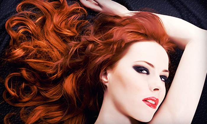 Christina Waterworth at Beauty Heaven - Irvine Business Complex: Cut and Conditioner with Optional Partial or Full Highlights from Christina Waterworth at Beauty Heaven (Up to 68% Off)