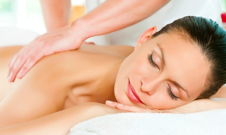 One or Two 90-Minute Massages and Pumpkin-Enzyme Back Scrubs at M Spa and Skin Care (Up to 53% Off)