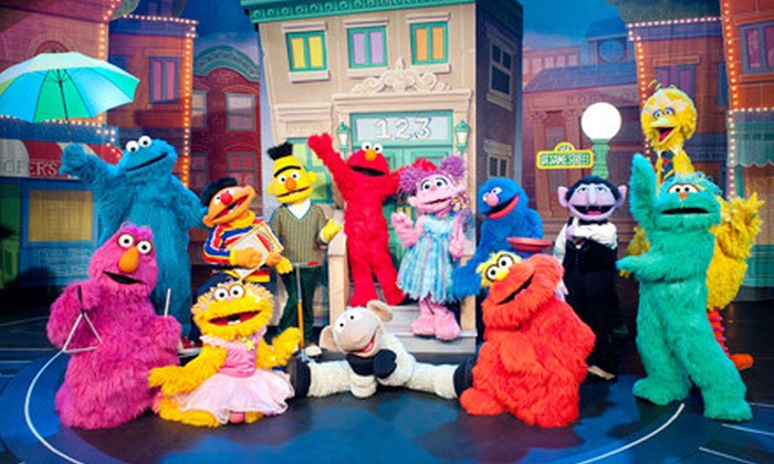 """Sesame Street Live """"Can't Stop Singing"""" - Bon Secours Wellness Arena: Sesame Street Live """"Can't Stop Singing"""" at BI-LO Center on September 20–22 (Up to 33% Off)"""