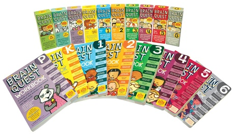 Brain Quest Deck and Workbook Sets