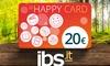Buono di 20 € per acquisti online su ibs.it
