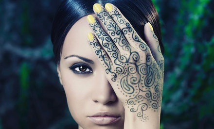 30Minute Henna Art Session from Fatima Eyebrow Threading & Henna Tattoo (44% Off)