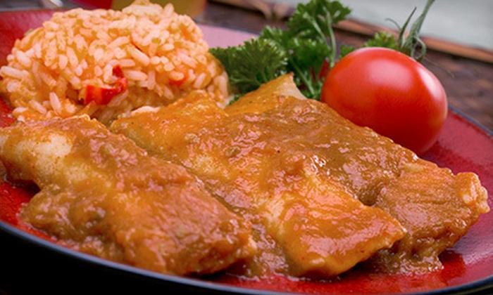 Restaurante Mi Casita - City Centre: Salvadoran and Mexican Food at Restaurante Mi Casita (Up to 54% Off). Three Options Available.