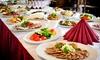 Maxim - Maxim: Mediterranes Catering für 10, 20, 30 oder 50 Personen bei Maxim ab 99,90 € (bis zu 64% sparen*)