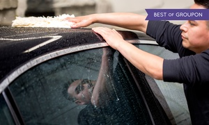 Car Wash Company: One or Three Car Washes with Rain-X or One Wash with Hand Wax at Car Wash Company (Up to 55% Off)