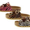 Shoes of Soul Girls' Double-Strap Sandals