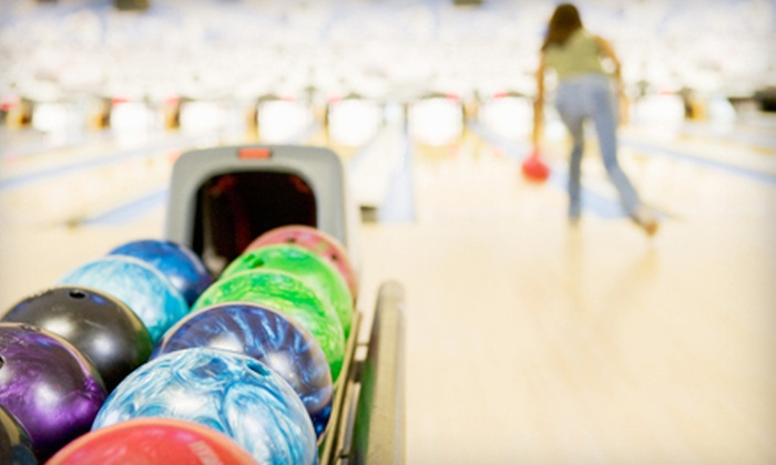 Alley Gatorz - Gainesville: Bowling Outing for Two with Optional Nachos and Beer at Alley Gatorz (Up to 53% Off)
