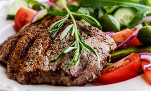 Ellsworth Steak House: Breakfast, Lunch, or Dinner for Two Takeout Steak-House Food from Ellsworth Steak House (Up to 44% Off)