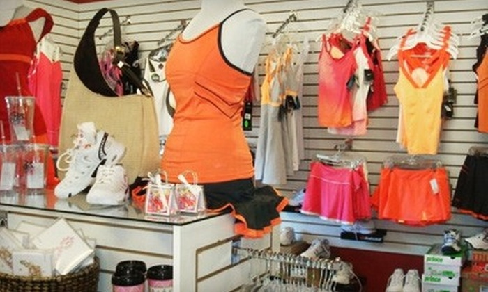 Get a Grip Pro Shop - Northeast Pensacola: Tennis Apparel, Shoes, and Accessories at Get a Grip Pro Shop (Up to 53% Off). Two Options Available.