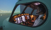 Flight Simulator Experience or Full-Motion Flight Simulator Experience at Bristol Flying (Up to 51% Off)