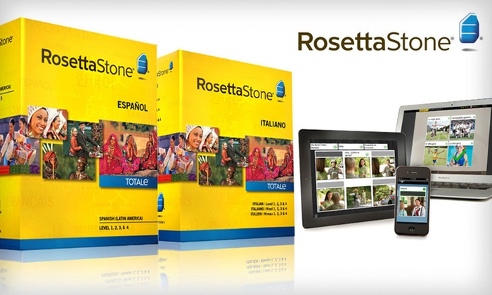Rosetta Stone: $259.99 for a Rosetta Stone French, Italian, or Spanish Level 1–4 Set ($449 List Price). Free Shipping and Returns.