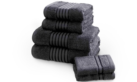 Rapport Home 500gsm 6- or 12-Piece Egyptian Cotton Windsor Towel Bale