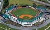 Carolina Mudcats - Five County Stadium: Carolina Mudcats Game for Two or Four at Five County Stadium (Up to 68% Off)