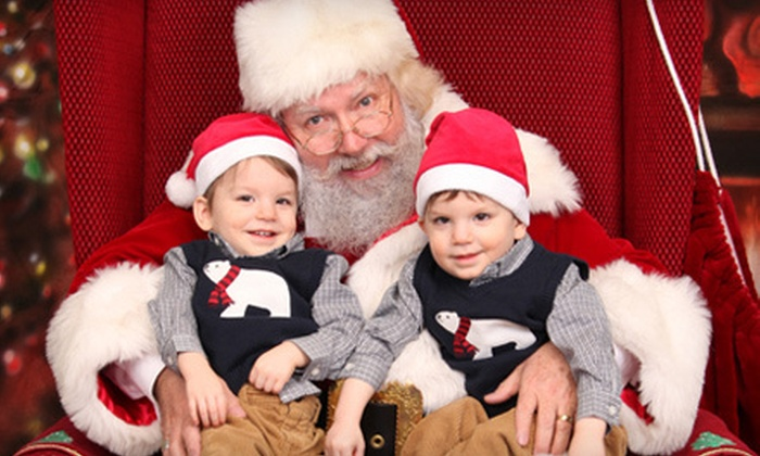Apogee Studios - Multiple Locations: $15 for Photo Shoot with Santa for Up to Three with Six Prints from Apogee Studios ($25 Value)
