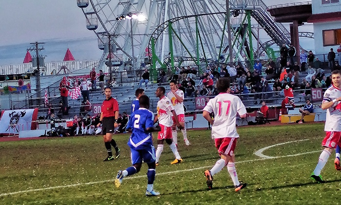 Ocean City Nor'easters vs. Long Island Rough Riders - Ocean City : Ocean City Nor'easters Soccer Game for Two or Four at Carey Stadium on Saturday, June 7, at 7 p.m. (Up to 52% Off)
