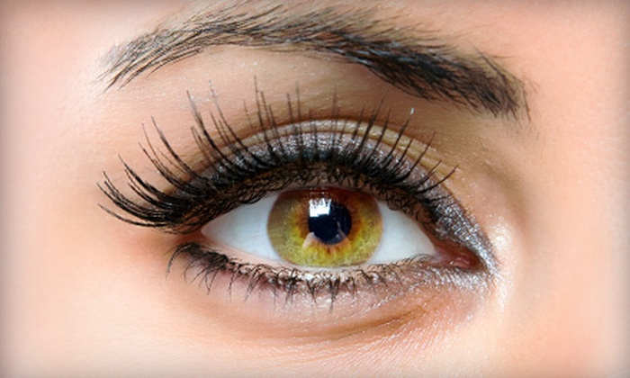 Glendale Salonspa, An Aveda Concept Salon - City Center: Full Set of Upper-Eyelash Extensions with Option for First Fill-In at Glendale Salonspa (61% Off)