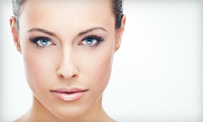 Indulgences - Downtown: Permanent Eyebrow Makeup, Eyeliner, or Both at Indulgences (Up to 51% Off)
