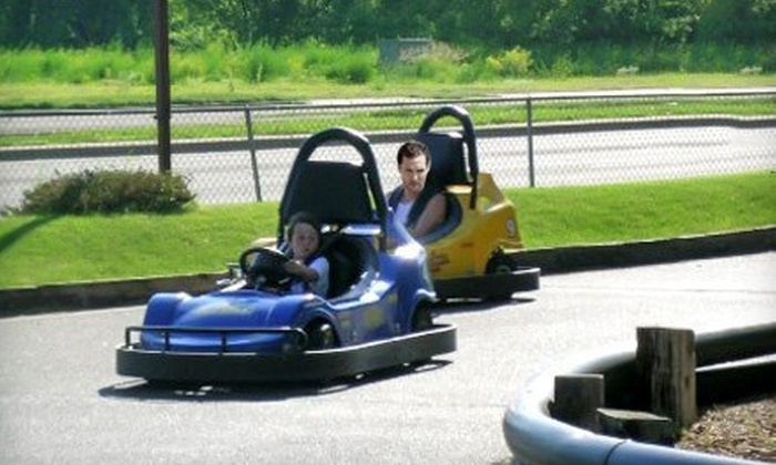 Lilli Putt Family Entertainment Center - Coon Rapids: Go-Kart or Bumper Boats, or Birthday Package at Lilli Putt Family Entertainment Center in Coon Rapids (Up to 52% Off)