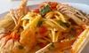 Al Ventaglio Ristorante Pizzerìa - Castel D'Azzano: Menu di mare con 4 portate, birra o vino per 2 o 4 persone (sconto fino a 65%)