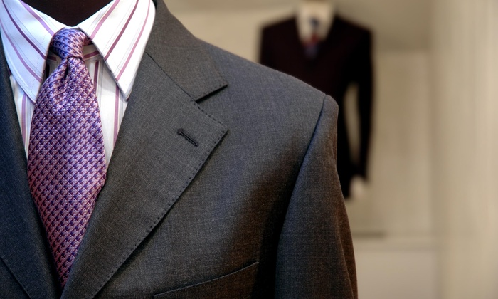DC Custom Clothiers - Dupont Circle: Premium Custom Tailored Suit from DC Custom Clothiers (46% Off)