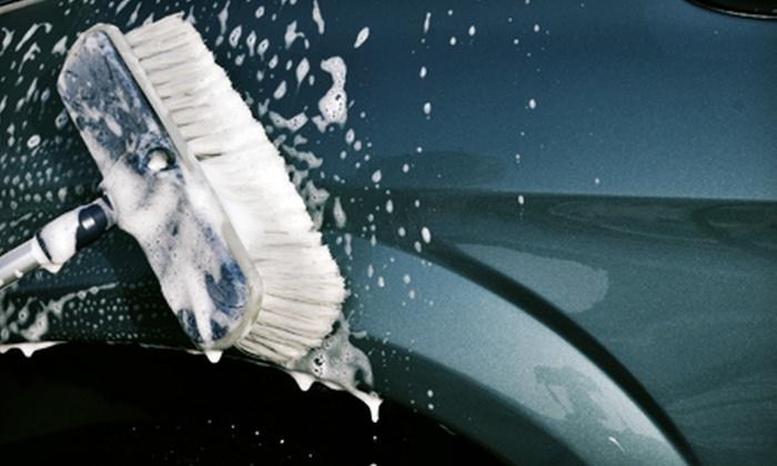 Justin's Car Wash Center - Roseville: $24 for Three Full-Service Car Washes at Justin's Car Wash Center in Roseville (Up to $50.97 Value)