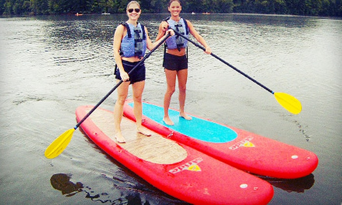 Urban Currents - Northeast Cobb: Two-Hour Group Introduction to Standup-Paddleboarding Course for One or Two from Urban Currents (Up to 54% Off)