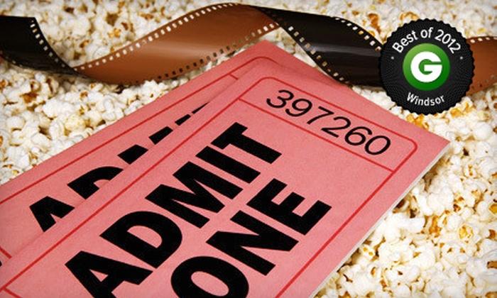 Lakeshore Cinemas - Tecumseh: $22 for a Movie with Popcorn and Pop for Two at Lakeshore Cinemas (Up to $45.71 Value)
