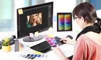 12 Monate Onlinekurs Grafikdesign mit Adobe InDesign, Illustrator und Photoshop bei Lecturio (55% sparen*)