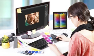 Lecturio: 12 Monate Onlinekurs Grafikdesign mit Adobe InDesign, Illustrator und Photoshop bei Lecturio (55% sparen*)