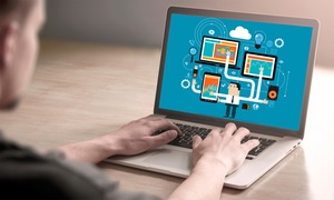Blue Mountain Training Solutions: Graphic Design and Webmaster Online Course Package from Blue Mountain Training Solutions (97% Off)