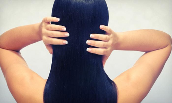 The Hair & Spa Gallery - Isanti: Keratin Treatment With or Without Haircut at The Hair & Spa Gallery (Up to 54% Off)
