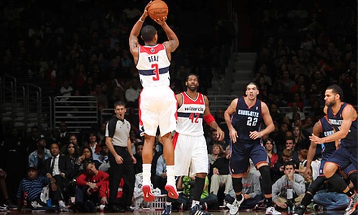 Washington Wizards - Verizon Center: Washington Wizards NBA Game at Verizon Center with Pregame Warm-Up and Shirt on December 4 or 14 (Up to 41% Off)