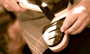 Up to 50% Off Cobbler Services and Shoe Repair at The Heel Bar, plus 9.0% Cash Back from Ebates.