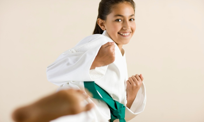 My Dojo - Multiple Locations: 10 Karate Classes with One Anti-Bullying Class and Uniform for One or Two Kids at My Dojo Karate (Up to 87% Off)