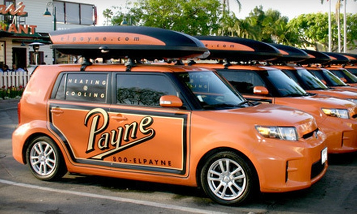 The Payne Company - Orange County: Air-Conditioner Tune-Up with Optional Refrigerant or Furnace Service and Cleaning from The Payne Company (Up to 92% Off)