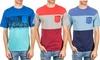 Distortion Men's Crew-Neck T-Shirts: Distortion Men's Crew-Neck T-Shirts