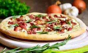 Da Grasso: Dowolnie wybrana pizza o średnicy 42 cm za 22,99 zł i więcej opcji w pizzerii Da Grasso (do-42%)