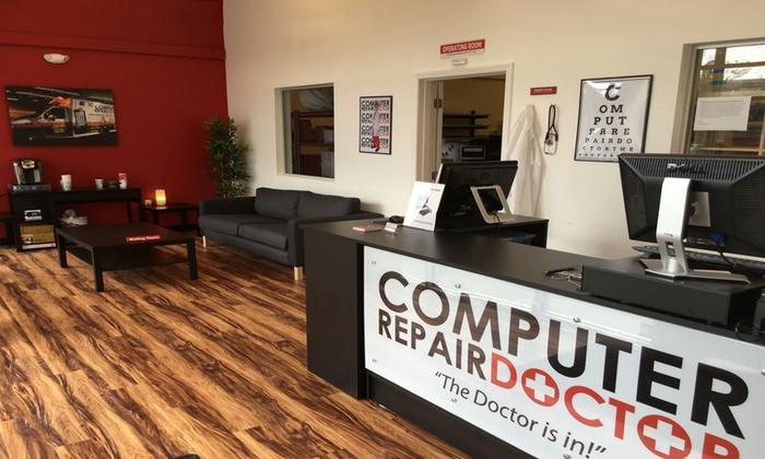 iPhone or iPad Glass Screen Repair or Computer Repairs at Computer Repair Doctor (Up to 54% Off)