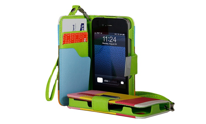 Wallet Case for iPhone 4/4S or 5: $6.99 for a Wallet Case for iPhone 4/4S or 5 ($14.99 list price). Multiple Colors Available. Free Returns.