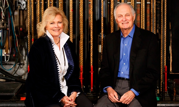 """Love Letters"" - Brooks Atkinson Theatre: ""Love Letters"" on Broadway Starring Alan Alda and Candice Bergen, Starting at $57.75"
